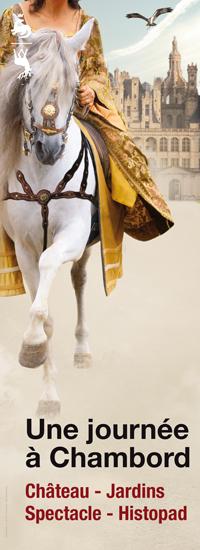 Découvrez le château de Chambord !